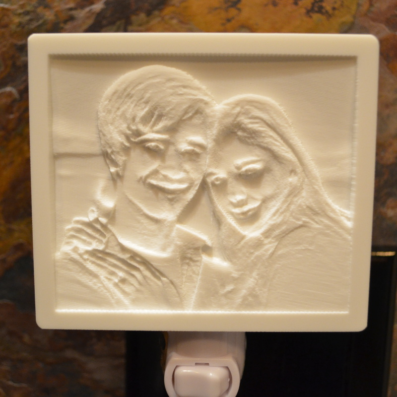Buy Custom Lithophane Night Lights Evergraph