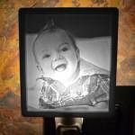 happy baby lithophane